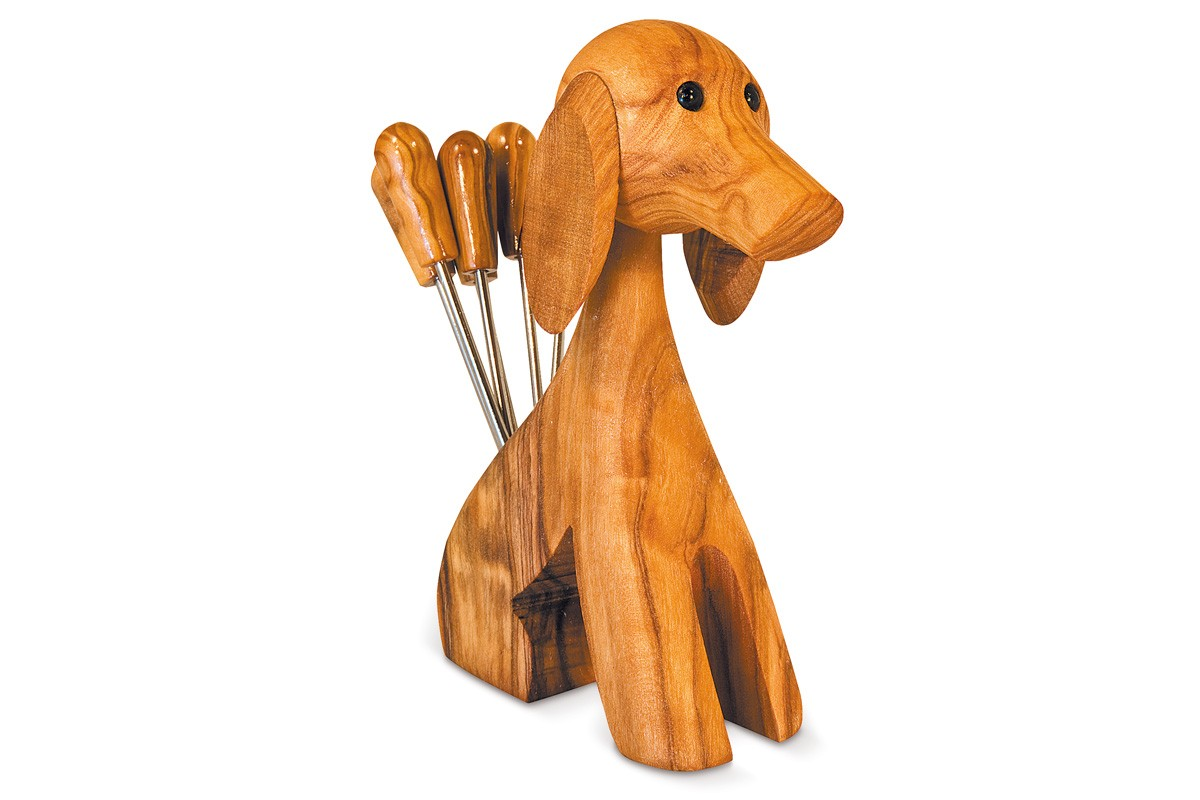 Dog fork holder