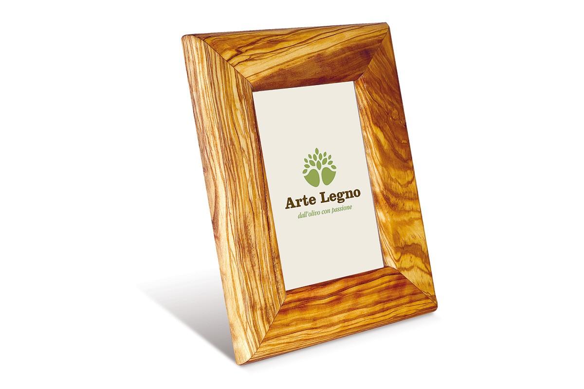 Rahmen rechteckig aus Olivenholz | Arte Legno Spello