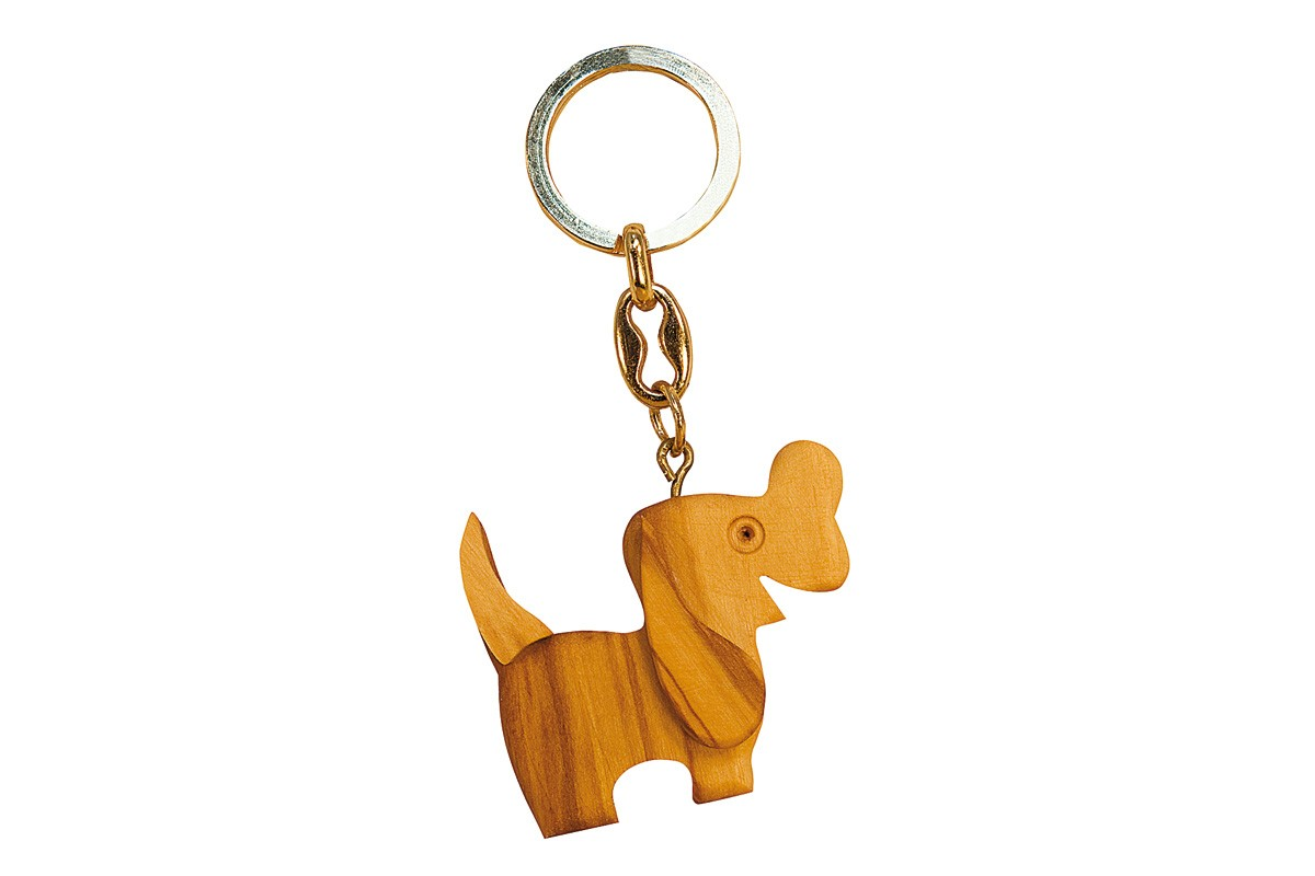 Key-rings with dog
