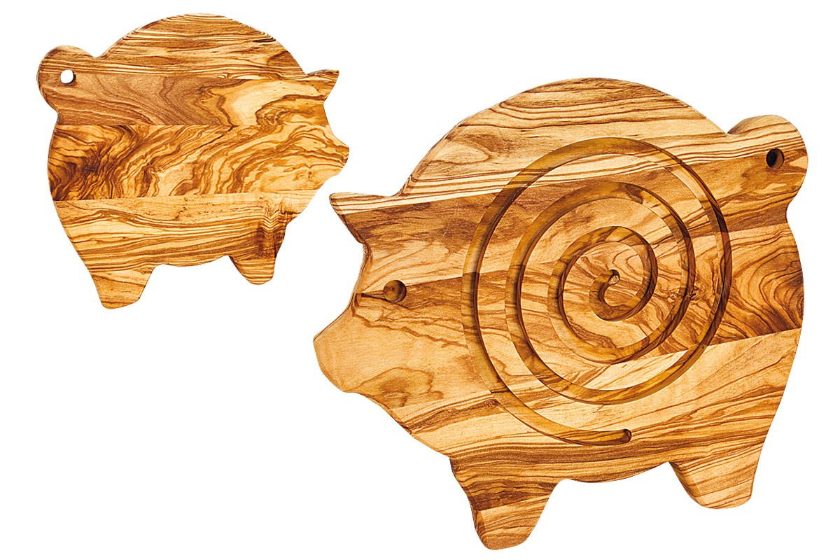 Piglet trivet and cutting board